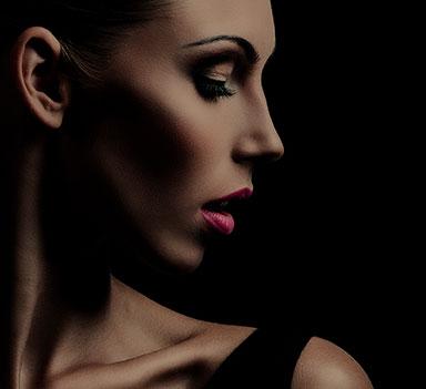 Refine - a young woman face photo