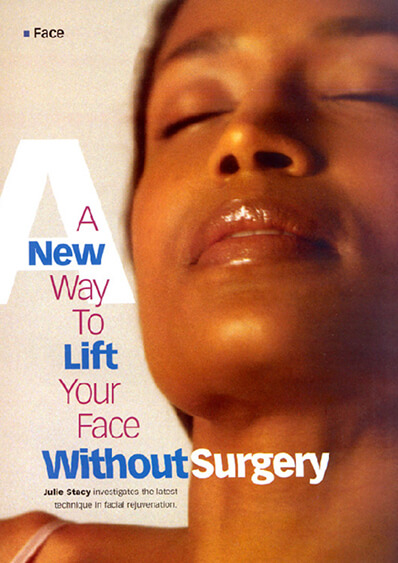 A new way to lift your face without surgery journal banner
