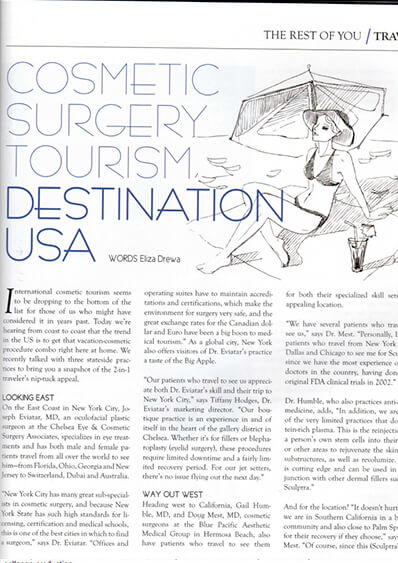 Cosmetic Surgery Tourism, Destination USA photo